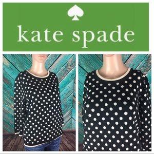 Kate Spade Polka Dot Wool Sweater